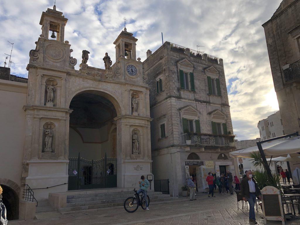 Piazza del Sedile Il Piano e la Civita di Matera