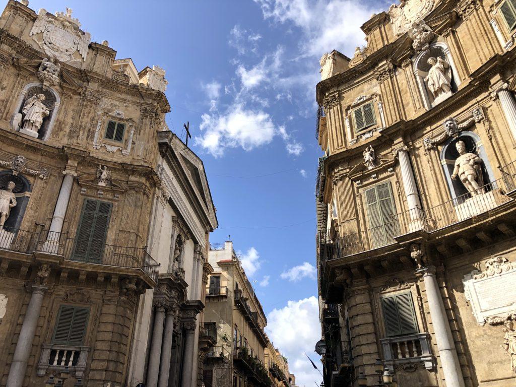 I quattro canti Palermo