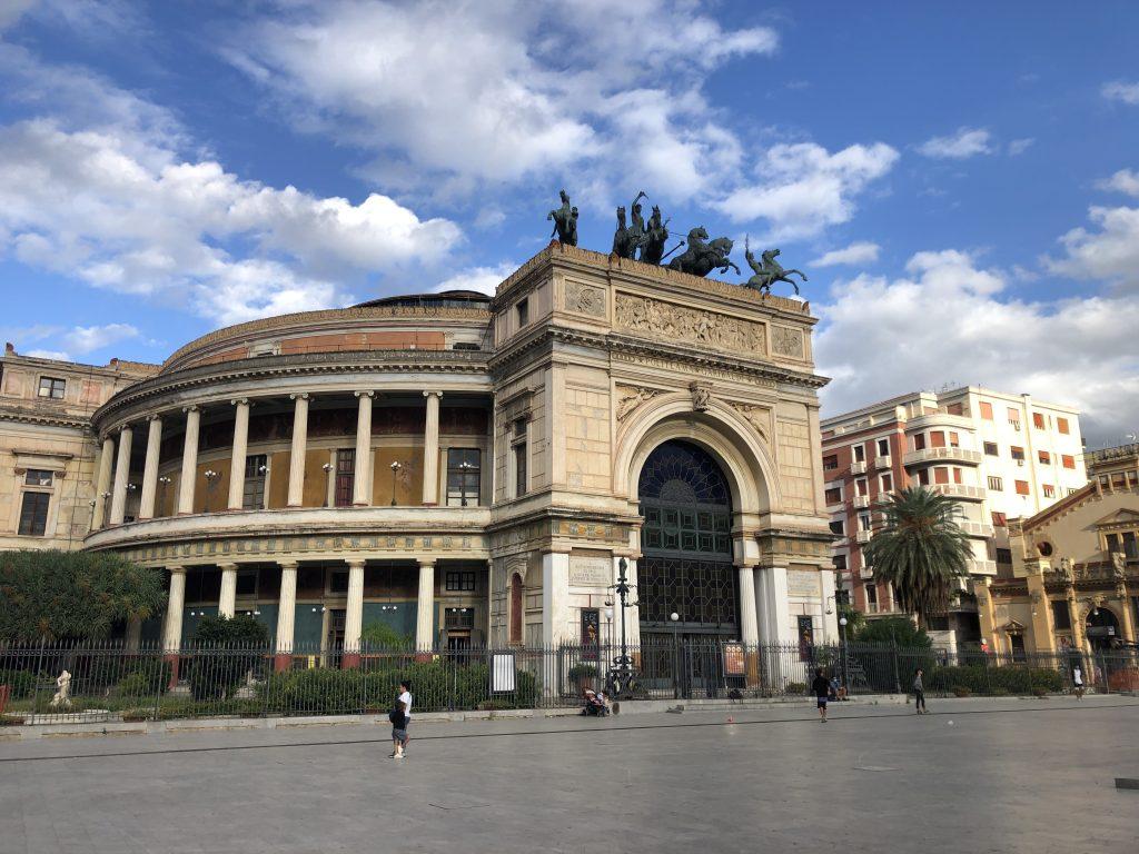 Il Teatro Politeama Garibaldi Palermo