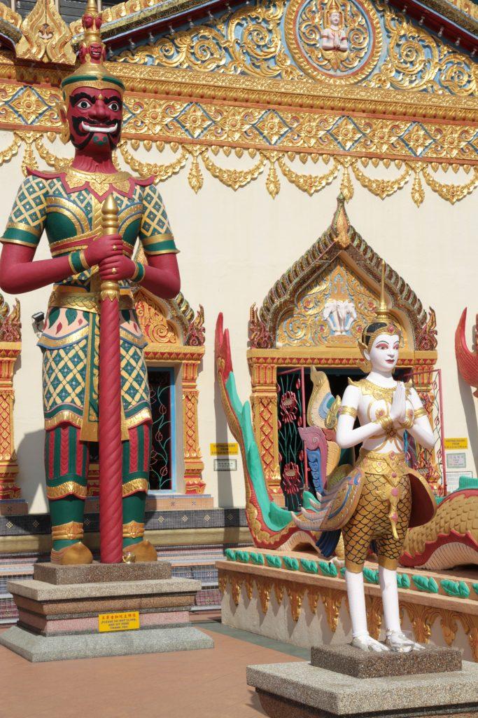 Il tempio del Buddha disteso La George Town dei Penarakan