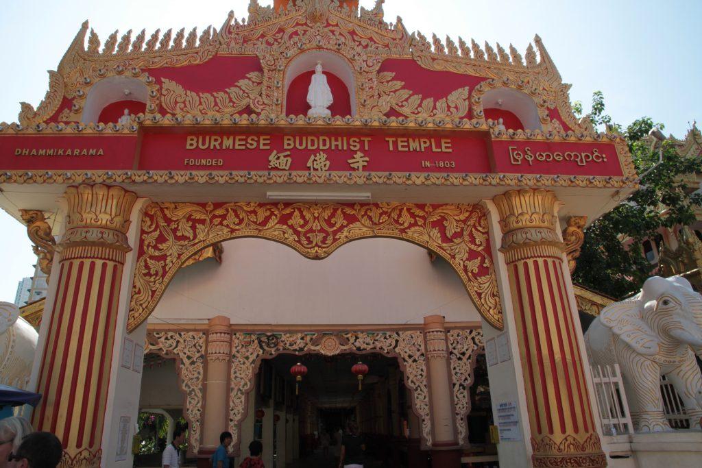 tempio buddista burmese