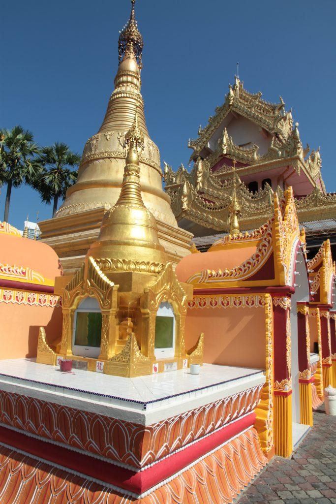 tempio buddista burmese La George Town dei Penarakan