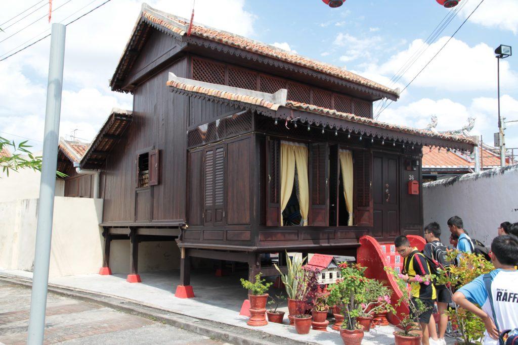 Il villaggio di Kampung Morten Malacca