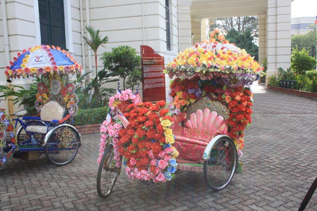 I trishaw di Malacca