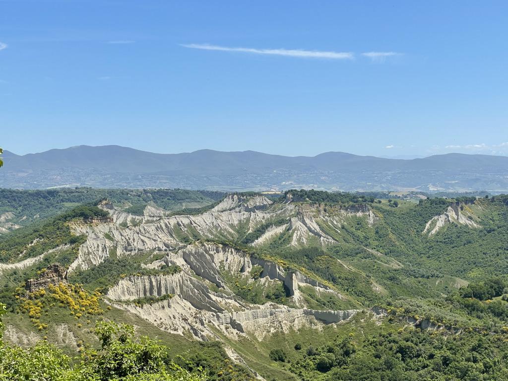 La valle dei Calanchi