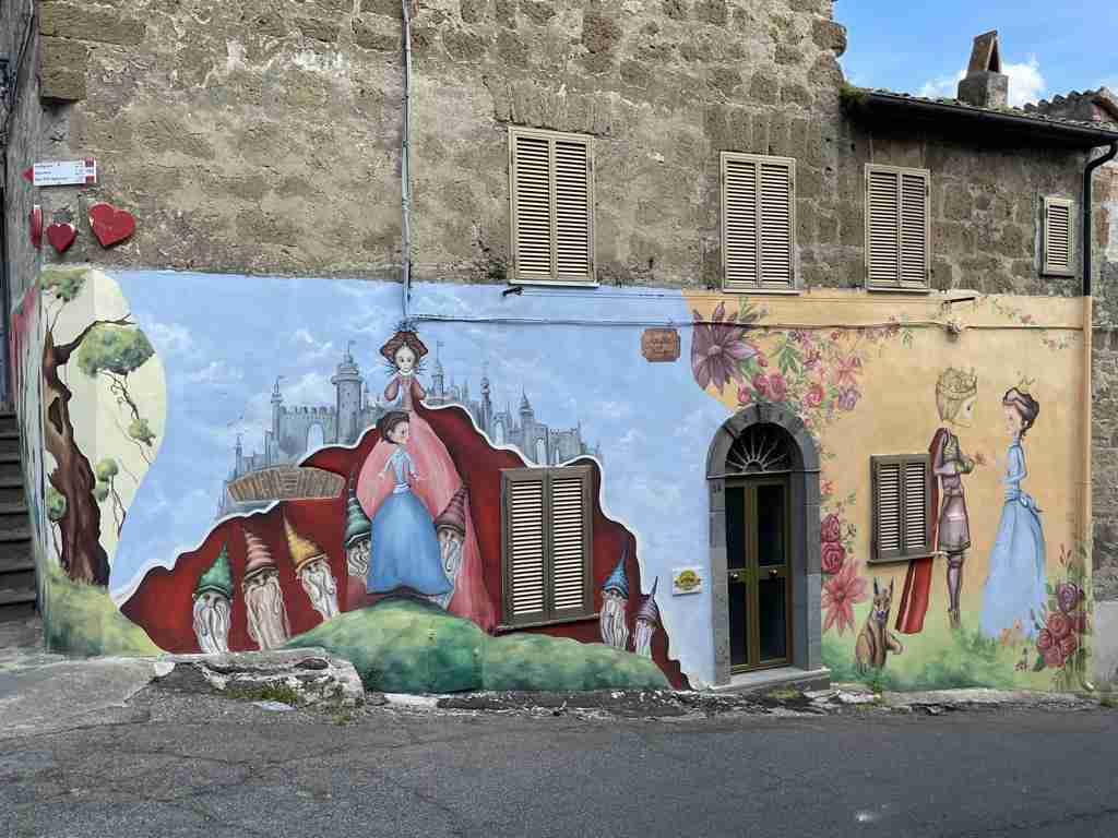 Sant'Angelo il paese delle fiabe