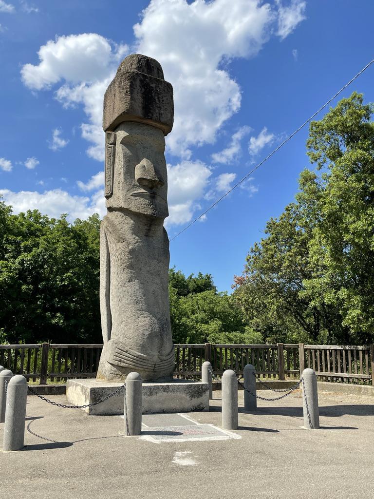 Il Moai di Vitorchiano I borghi della Tuscia viterbese