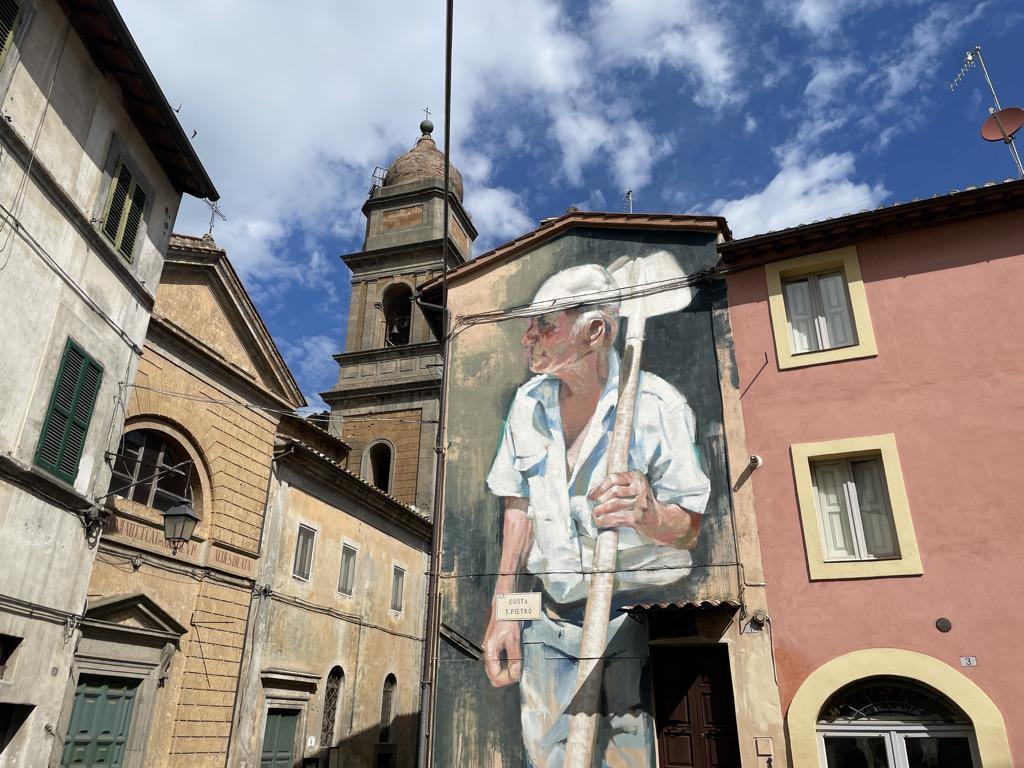 I murales di Acquapendente I borghi della Tuscia viterbese