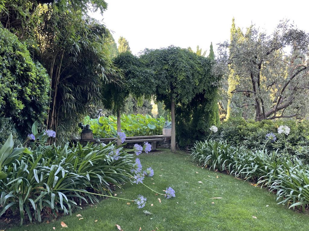 I giardini di Villa della Pergola Alassio