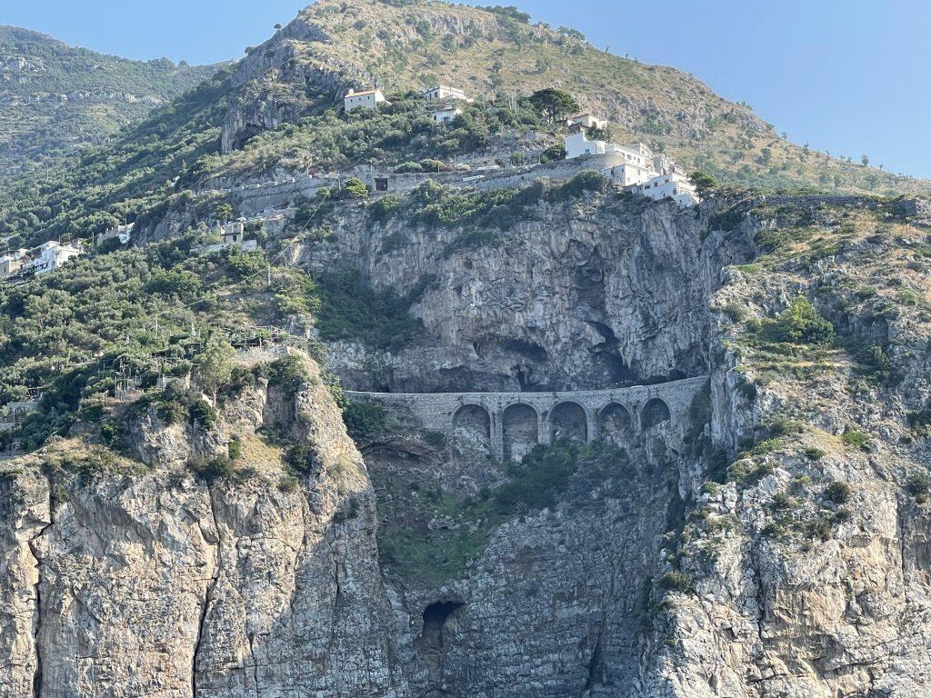SS 163 Costiera amalfitana Amalfi e Atrani